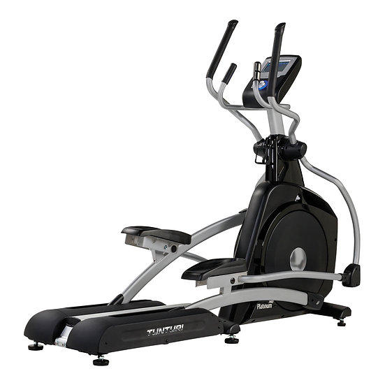Tunturi Platinum Pro Cross Trainer - Home fitness equipment