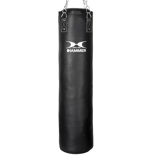 HAMMER BOXING Punching Bag Premium Black Kick - Home fitness equipment