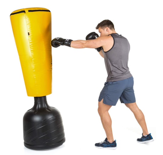 HAMMER BOXING Standing Punching Bag Impact Punch - Home fitness equipment