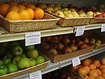 aliments biologiques, Fruits et legumes biologiques