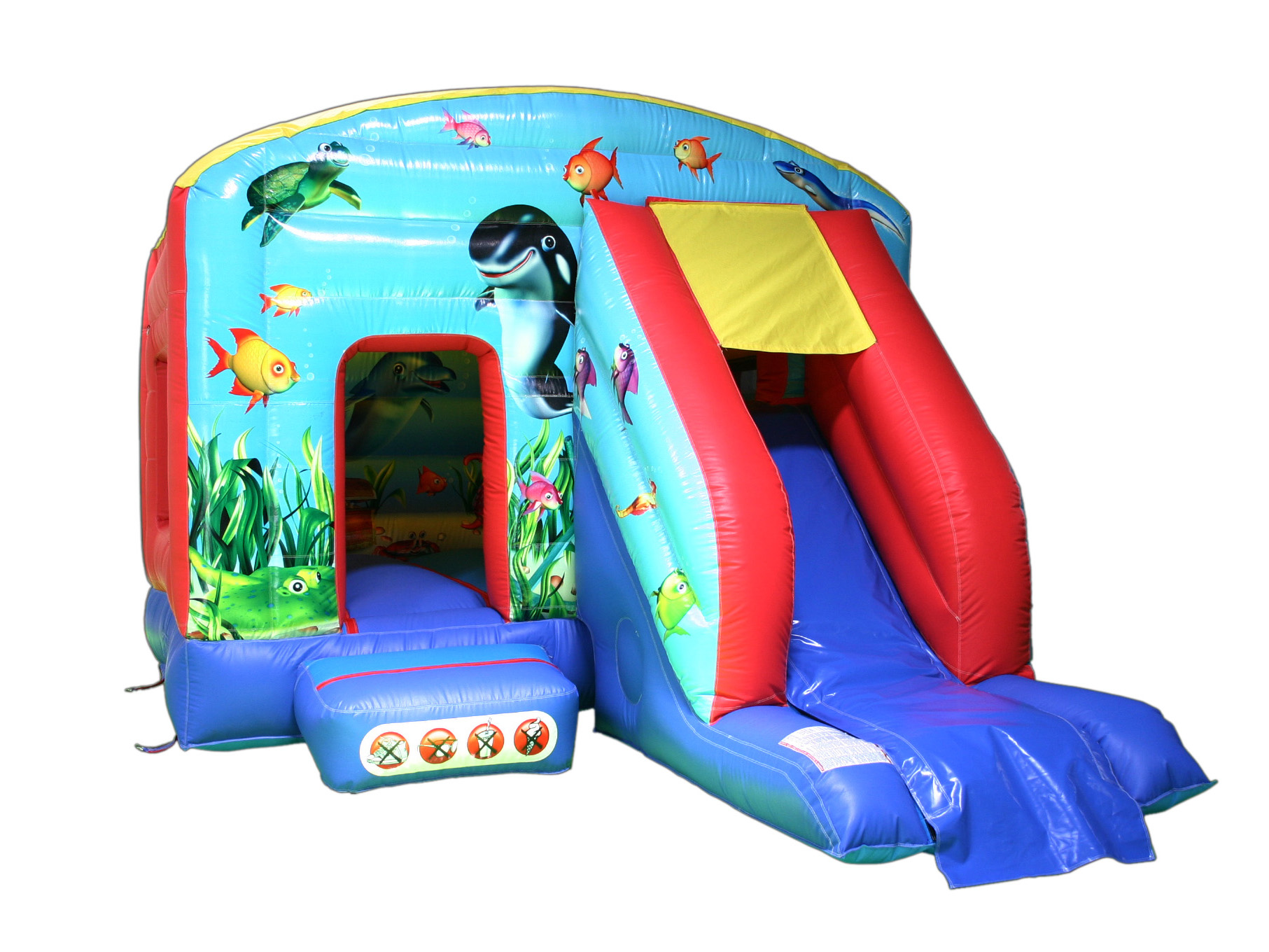 12x15 bounce & slides
