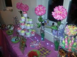 Sweet buffet