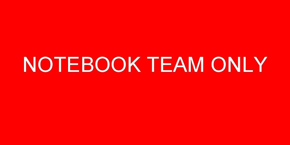 [Mon] Notebook Team Meeting