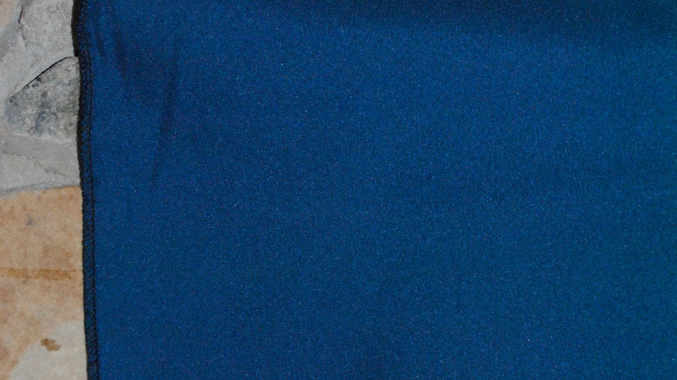 Teal Blue Polyester