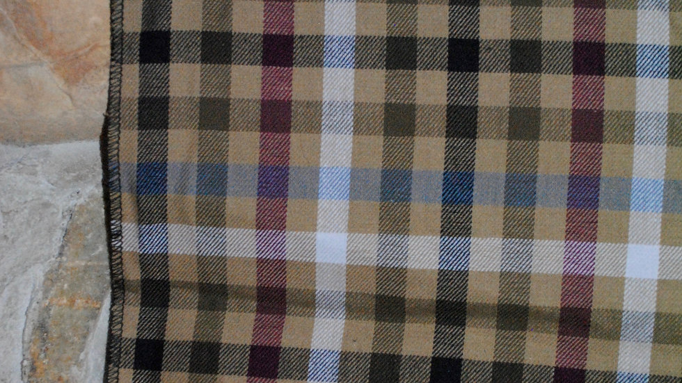 Checkered Light Brown
