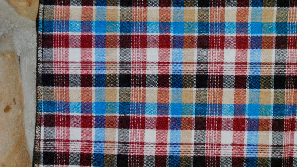 Checkered Red and Blue