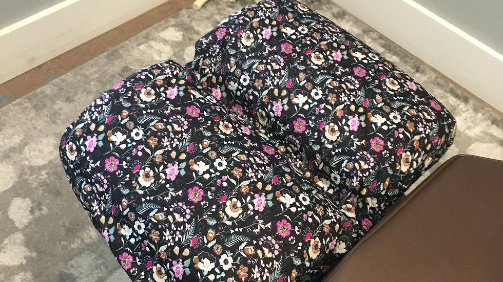 Elasticized Cover Fleurs
