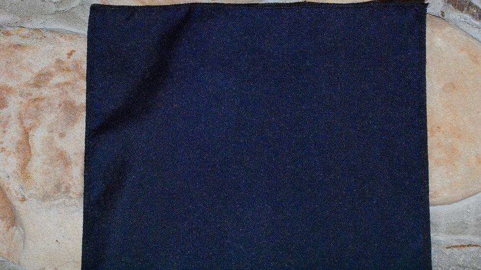 Dark Navy Blue Polyester