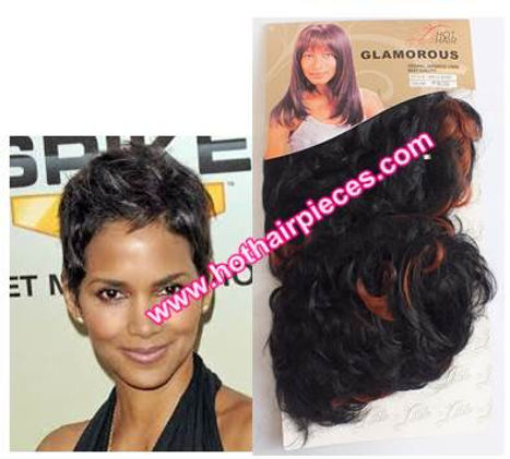 Halle Bery hairpieces by hothairpieces.com