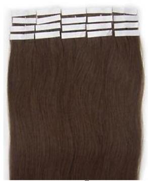 tape hair brown