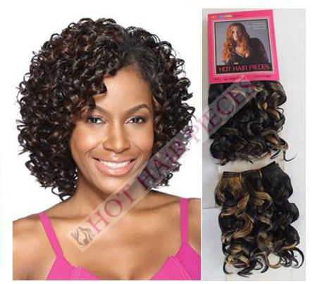 Oprah curl Human hair by hothairpieces.com