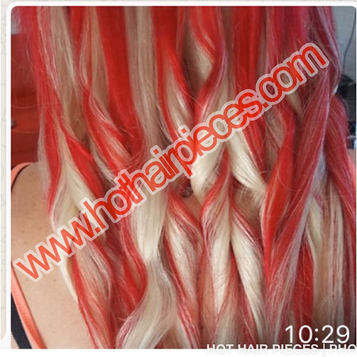 Blonde hair extensions@hothairpieces