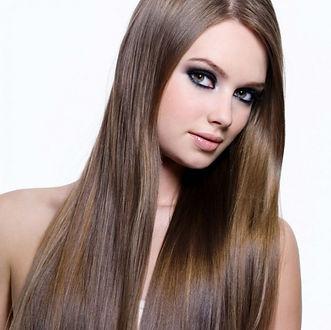 permanent hair brown