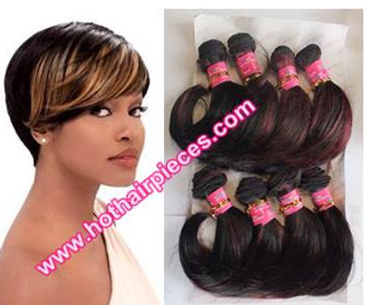 boy cut hairpiee weft by hothairpieces.com