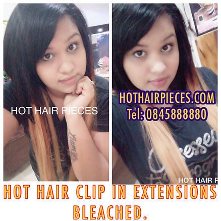 Ombre clip in extensions from hothairpieces