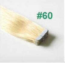 tape hair extensions color 60