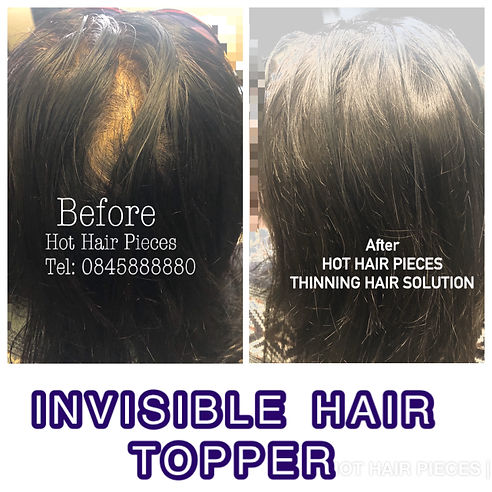 Hair topper from leading hair factory