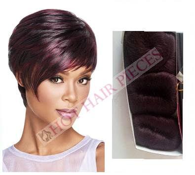 Tara, bump, human hair sleek by hot hairpieces.com