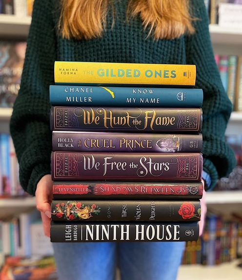 Marenda also uses her platform to talk about diverse authors. On International Women's Day, she posted a photo showing some of her favorite books written by female authors. (Photo/Olivia Marenda)