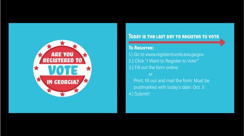 Voter Registration Instagram