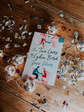 """Mixon also creates stylized photos featuring romance novels for her bookstagram account. This posts higlights """"The Two Lives of Lydia Bird"""" by Josie Silver. (Photo/Kate Mixon)"""