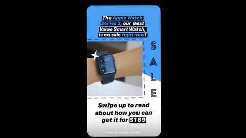 Apple Watch Instagram Story