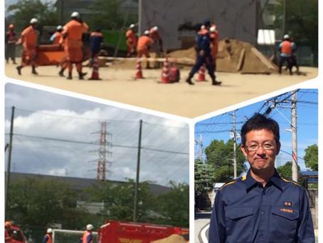 八尾市総合防災訓練