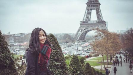 Yến học tiếng Pháp tại Paris - Aupair tại Pháp