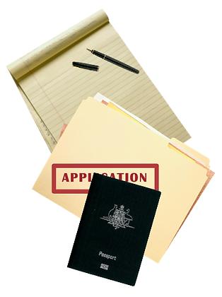 China Student Visa X2, 1-6 months