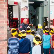Allen Fire Department visits Read Institute of Texas