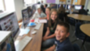 Students at The Connect Charter School in Pueblo, CO (District 70)
