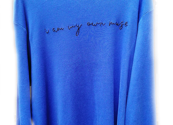 i am my own muse jumper