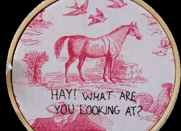 hay girl hay