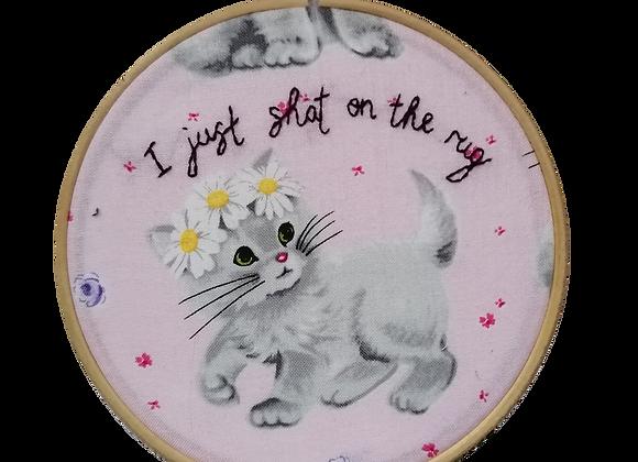 rug kitten