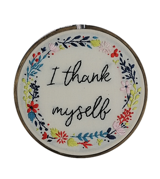 i thank myself