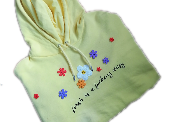seconds - daisy hoodie