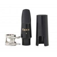 Faxx Alto Saxophone Hard Rubber Mouthpiece Kit