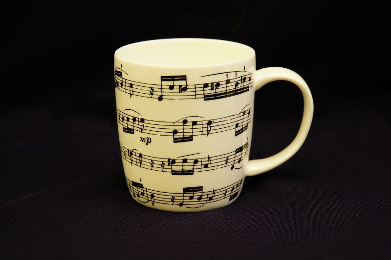 Musical Score Mug