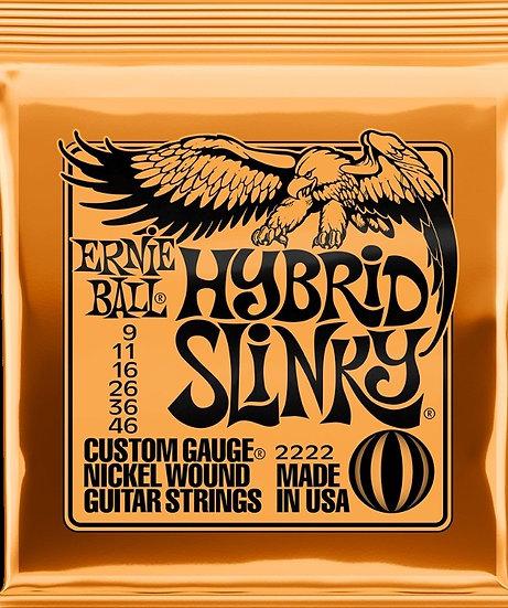Ernie Ball Guitar Strings Hybrid Slinky 2222
