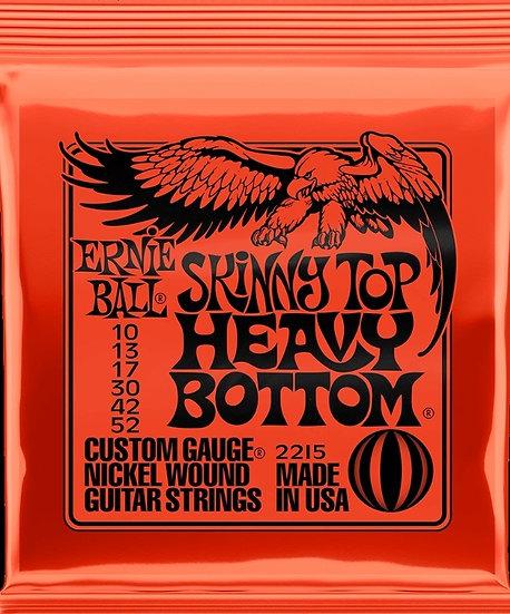 Ernie Ball Guitar Strings Skinny Top Heavy Bottom 2215