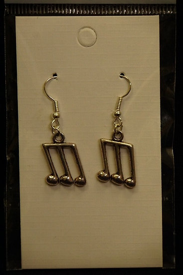 Earrings Musical Notes 3