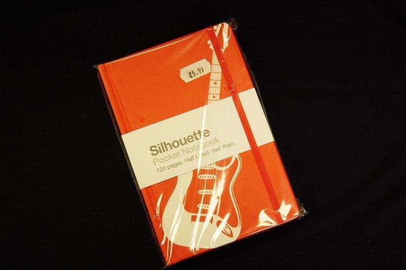 Pocket Notebook Guitar