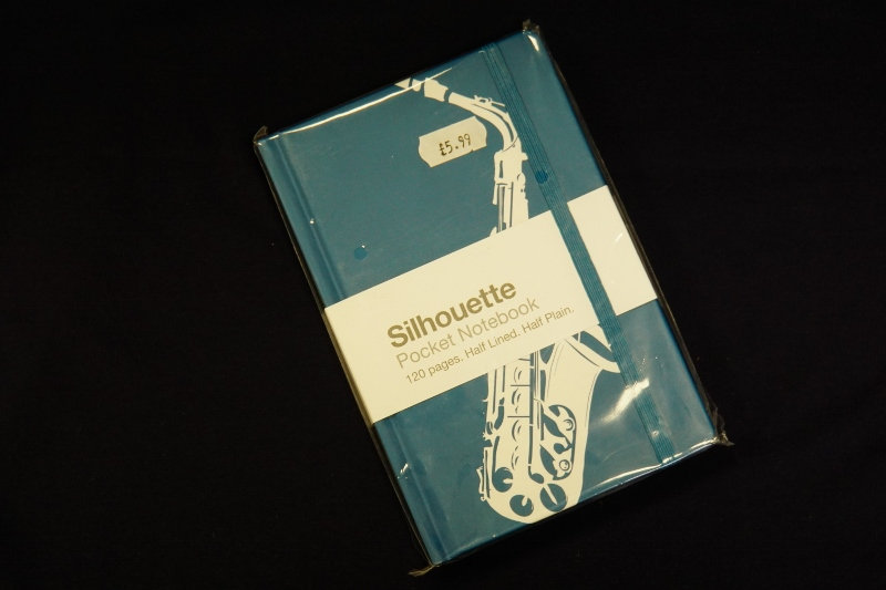 Pocket Notebook Saxophone