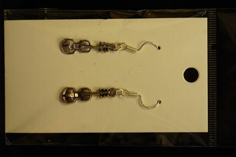 Earrings Violins