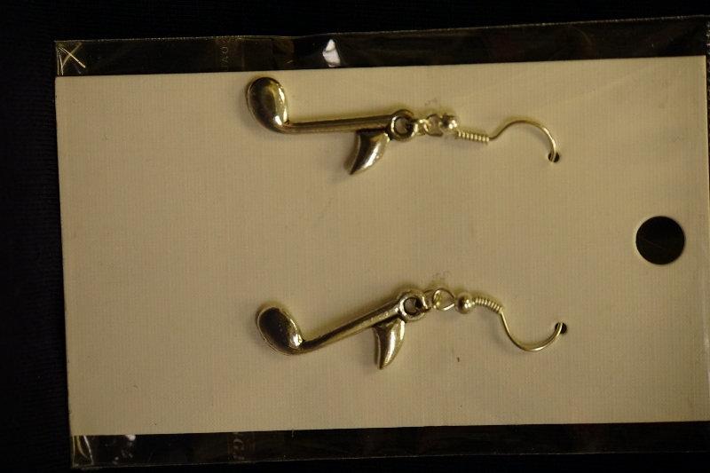Earrings Musical Notes