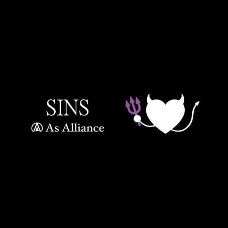 Triple Release 第三弾!「SINS」配信開始!