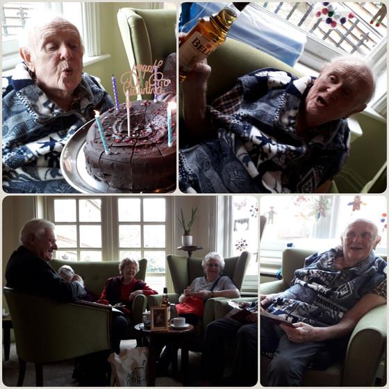 Birthday Celebrations at Ingham House