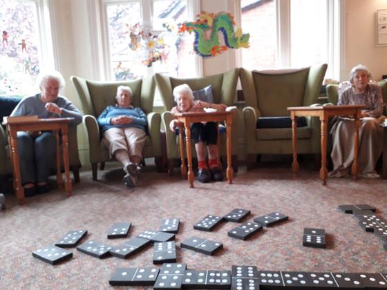Games Morning at Ingham House