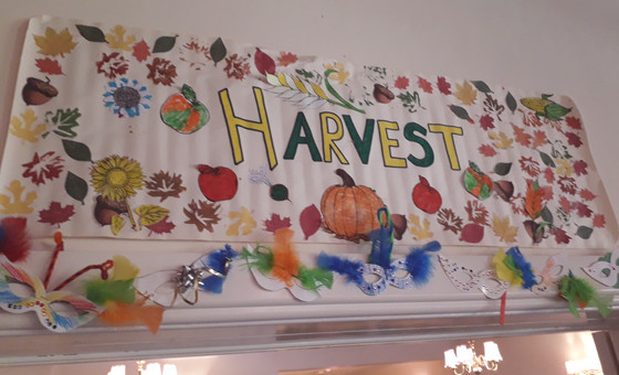 The Harvest Banner at Craft Club