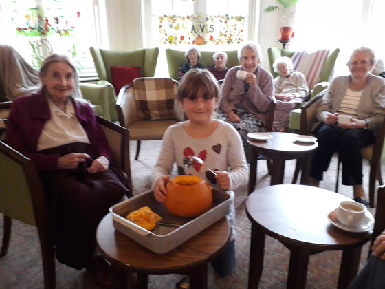 A Trip to East Dean Followed by Pumpkin Carving